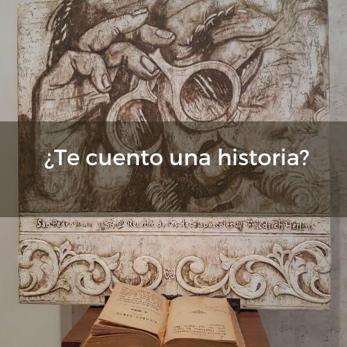 ¿Te cuento una historia? | por C.J. Ruiz | nunproject.com