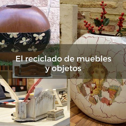El reciclado de muebles y objetos ! por C.J. Ruiz | nunproject.com